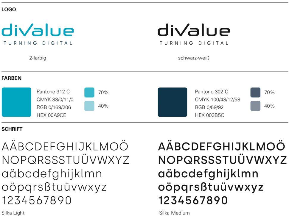 Corporate Design, Logo, Farben, Schriften